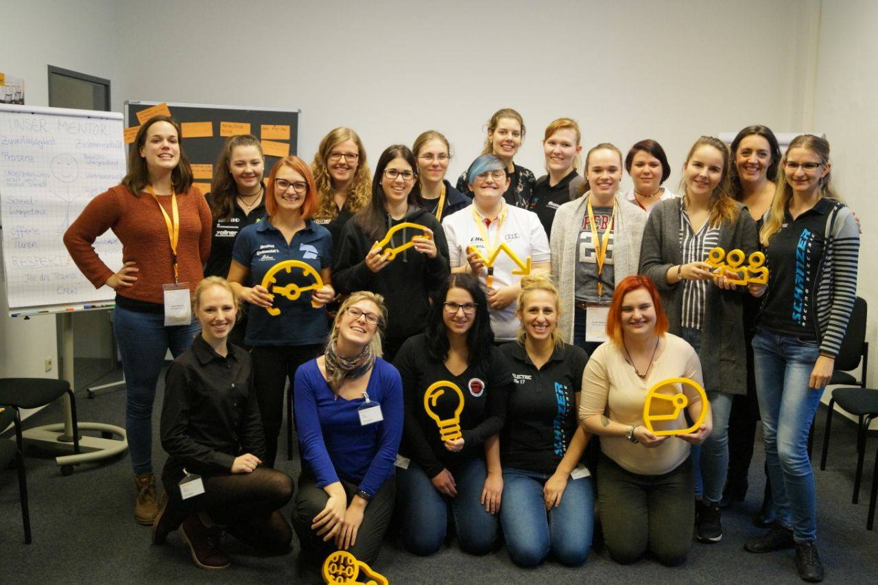 Female Formula Student Event  bei der Continental AG