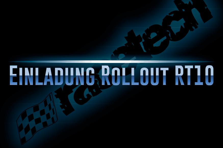 Einladungskarte zum Rollout des RT10